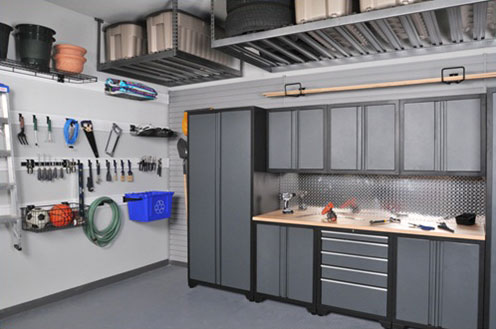 Why We Should Go For Garage Shelving?