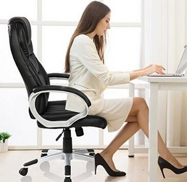 Comfortable Working With Luxury Leather Ergonomic Chairs