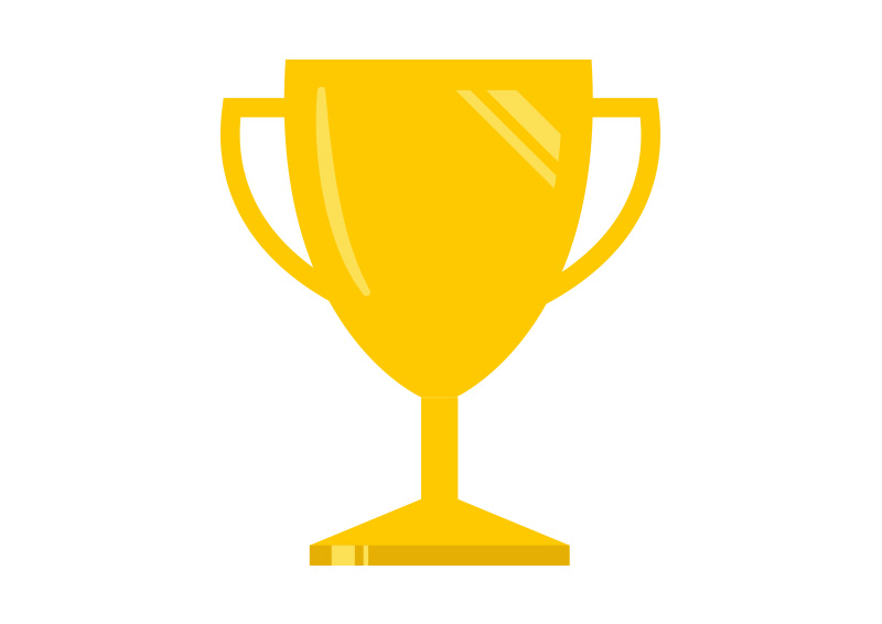 free-vector-flat-trophy-illustration