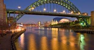 Newcastle's Many Beautiful Bridges